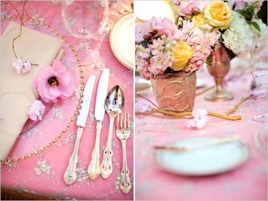 d co mariage rose mariage you. Black Bedroom Furniture Sets. Home Design Ideas