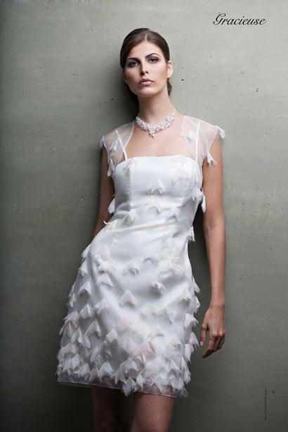 Tendance : La Robe de mariée courte - Mariage & You