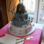 Un gâteau de mariage Star Wars