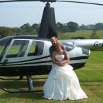 Louer un hélicoptère pour son mariage