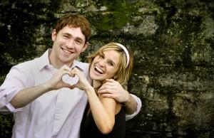 mariage et couple heureux en amour