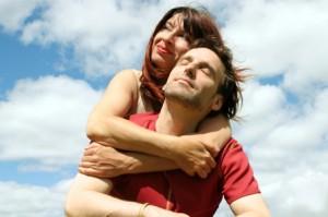 Mariage et couple très heureux